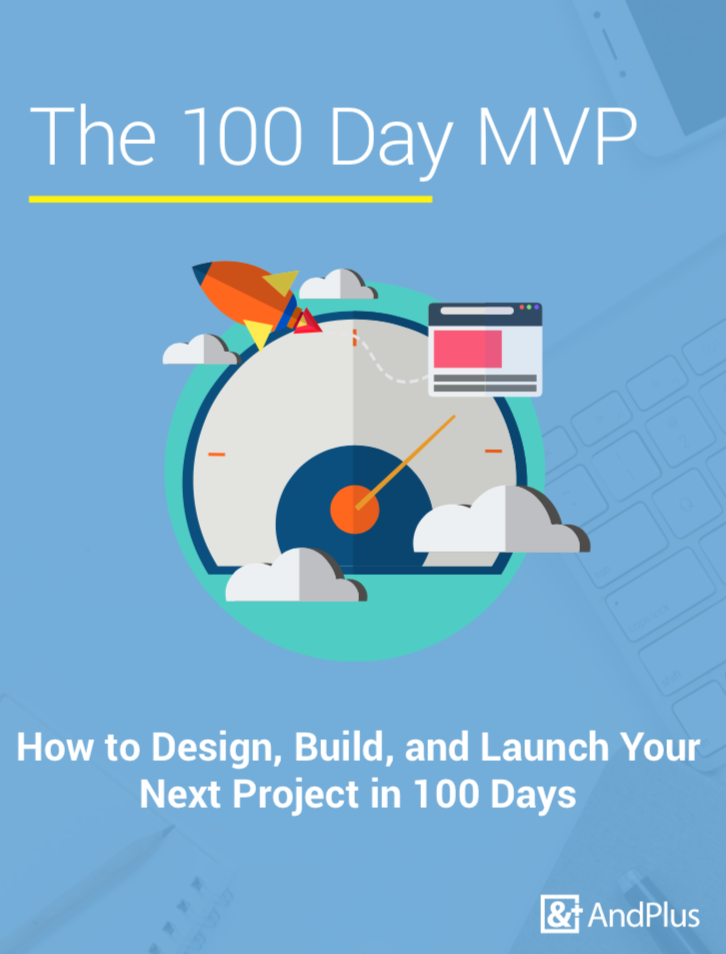 The 100 Day MVP, a practical guide for getting your software product to market quickly,.