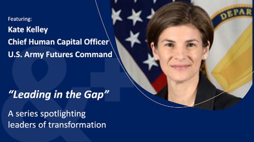 Image of Kate Kelley, Chief Human Capital Officer, US Army FUtures Command