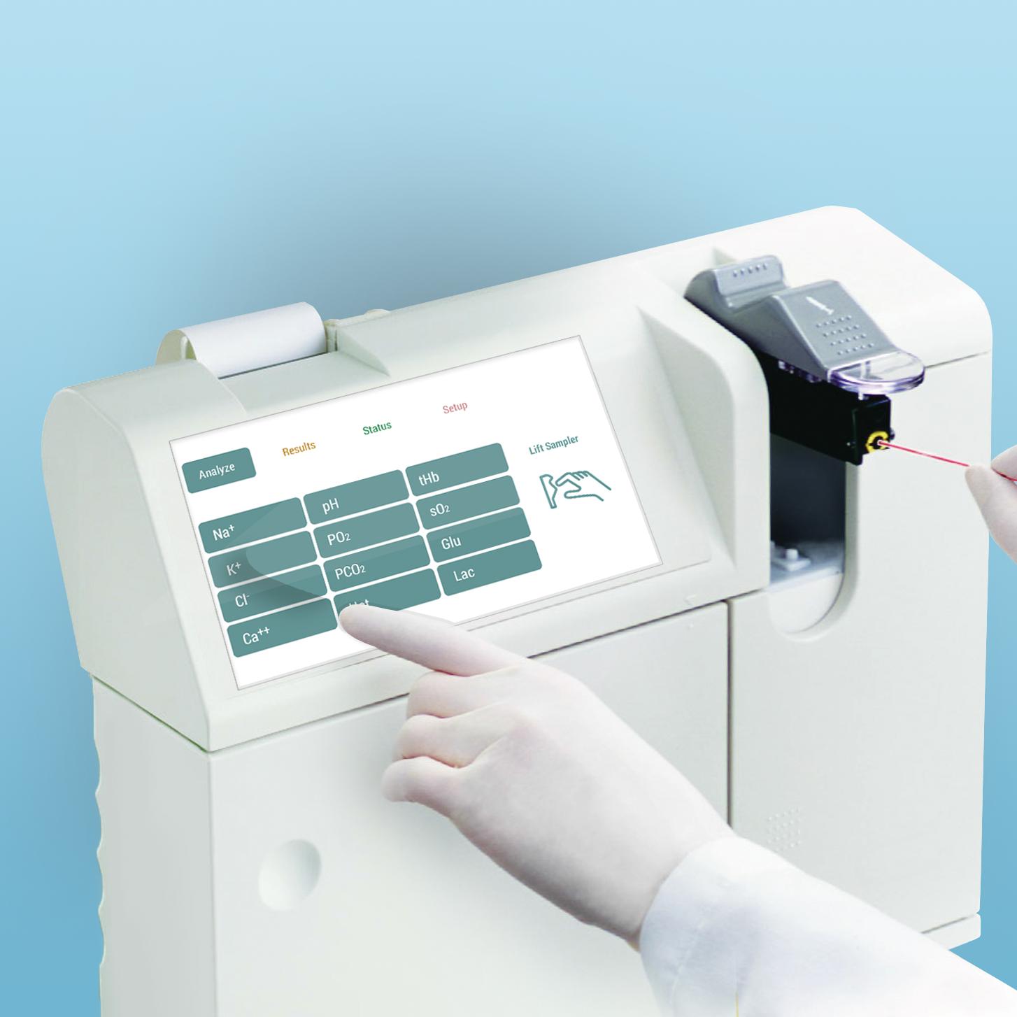 IoT: Medica Blood Gas Analyzer