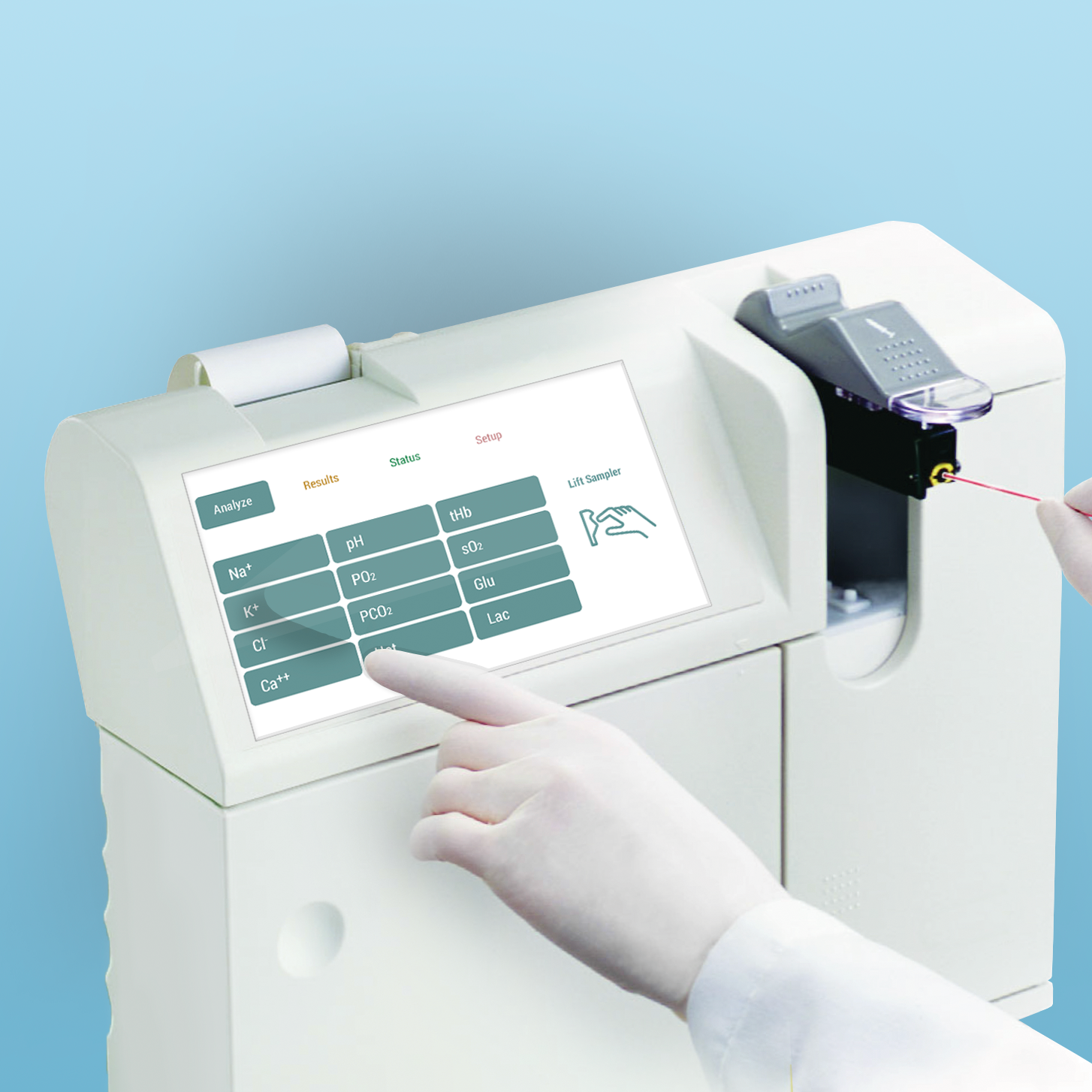 IoT: Medica Blood Gas Analyzer