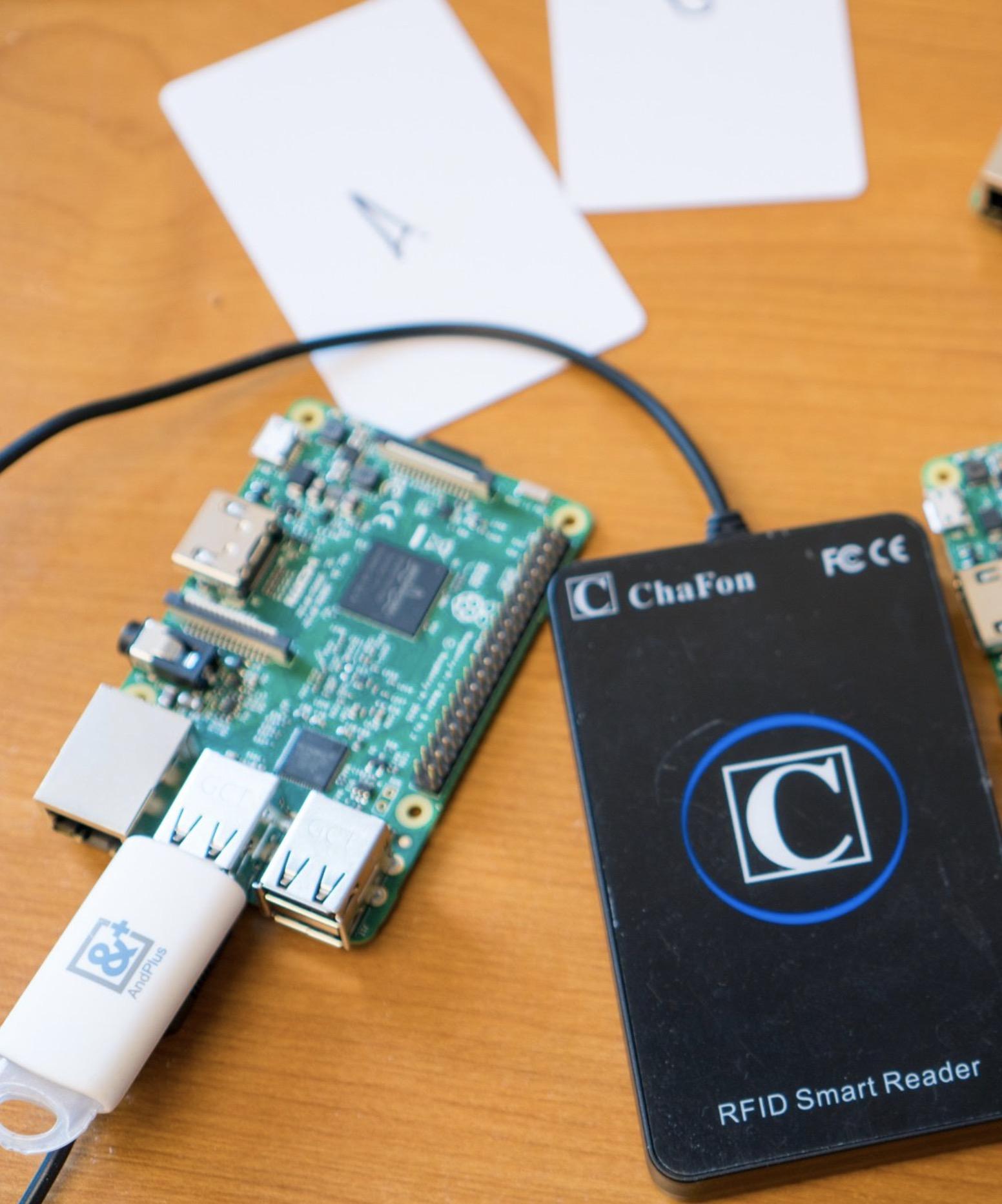 RFID blockchain proof of concept application