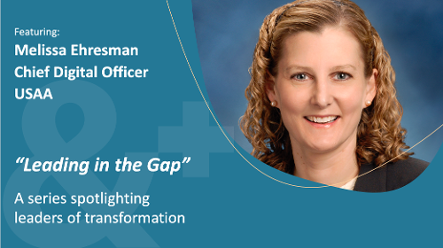 Image of Melissa Ehresman, Chief Digital Officer, USAA