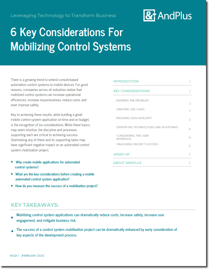 Mobilizing Control Systems Cover