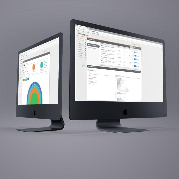 Bloomberg Vault - custom financial dashboard web app by AndPlus