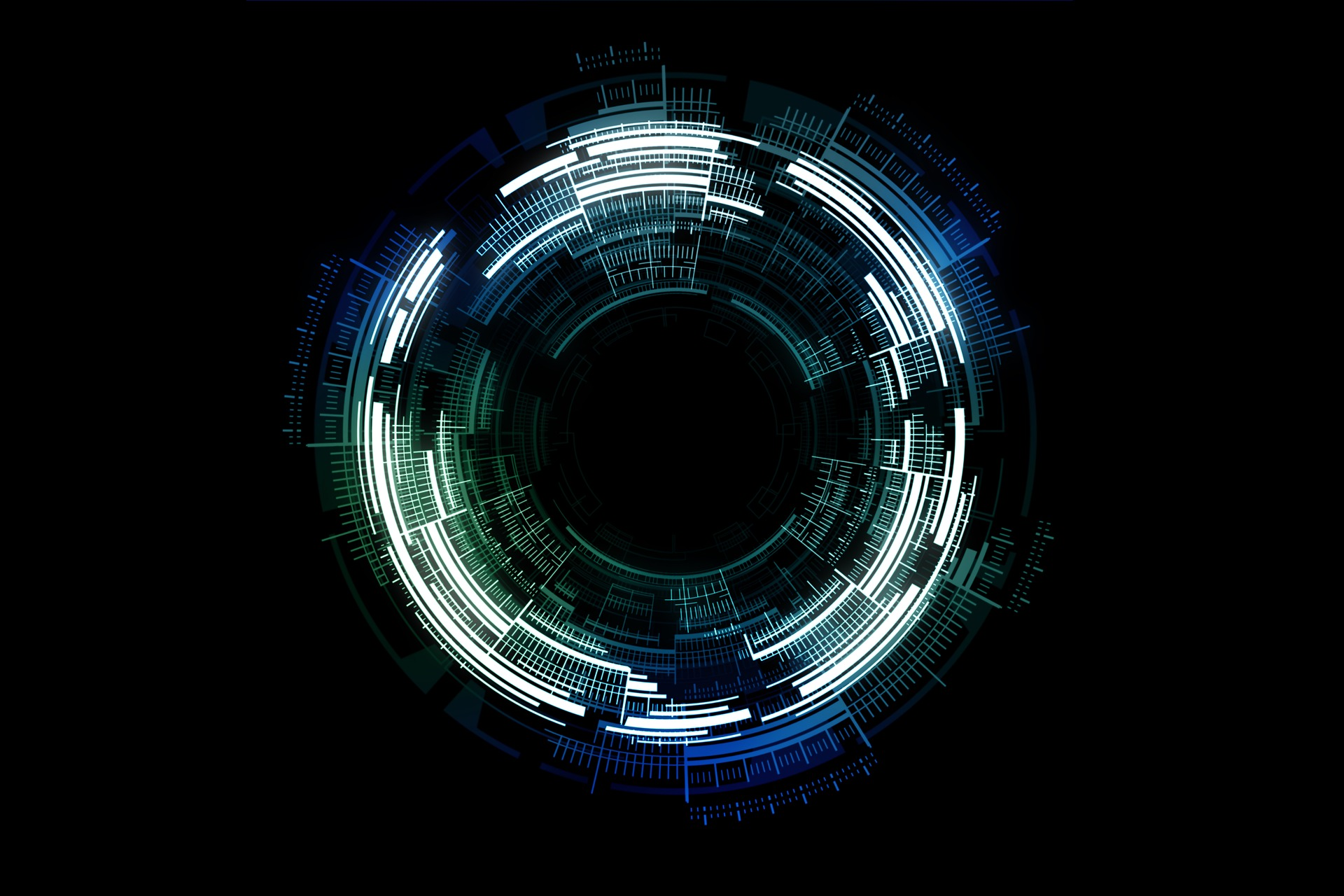 a digital black hole
