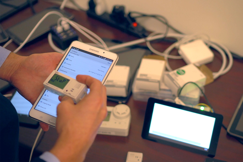 Onset data logger mobile app built with the Agile design & development process