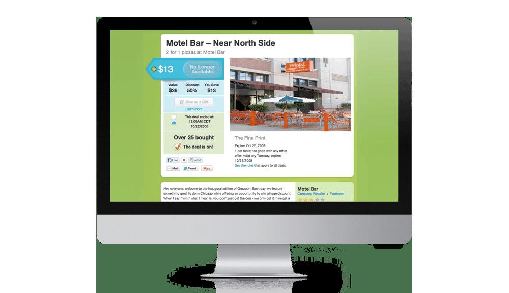original groupon website