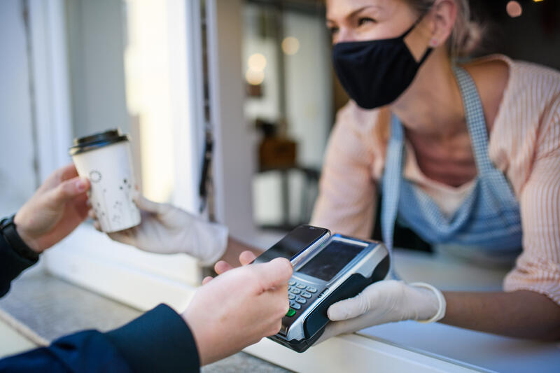 touchless iot for payments via nfc