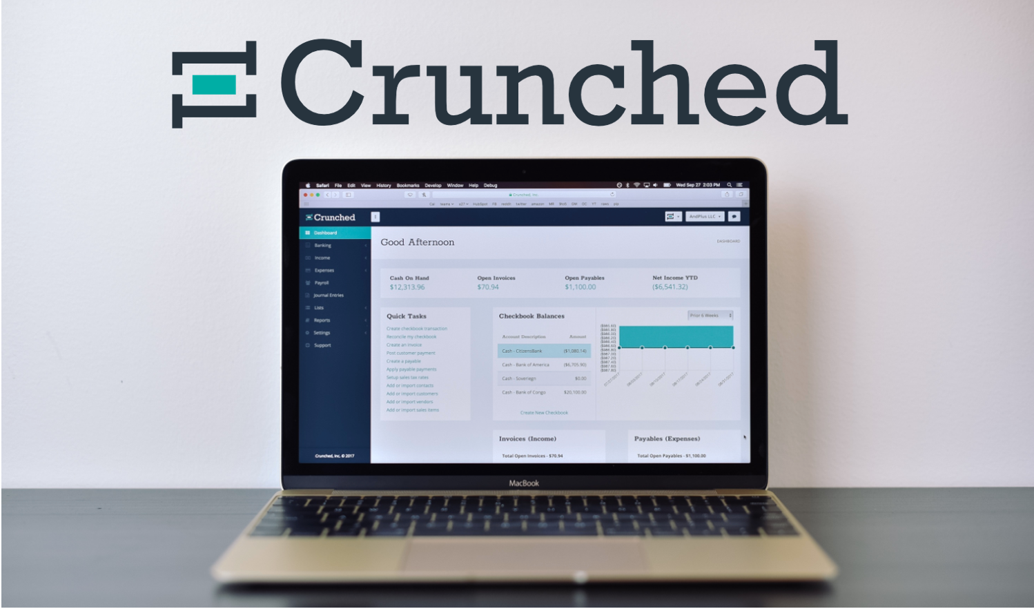 image for the asset titled: Crunched Accounting: Small Business Accounting Application