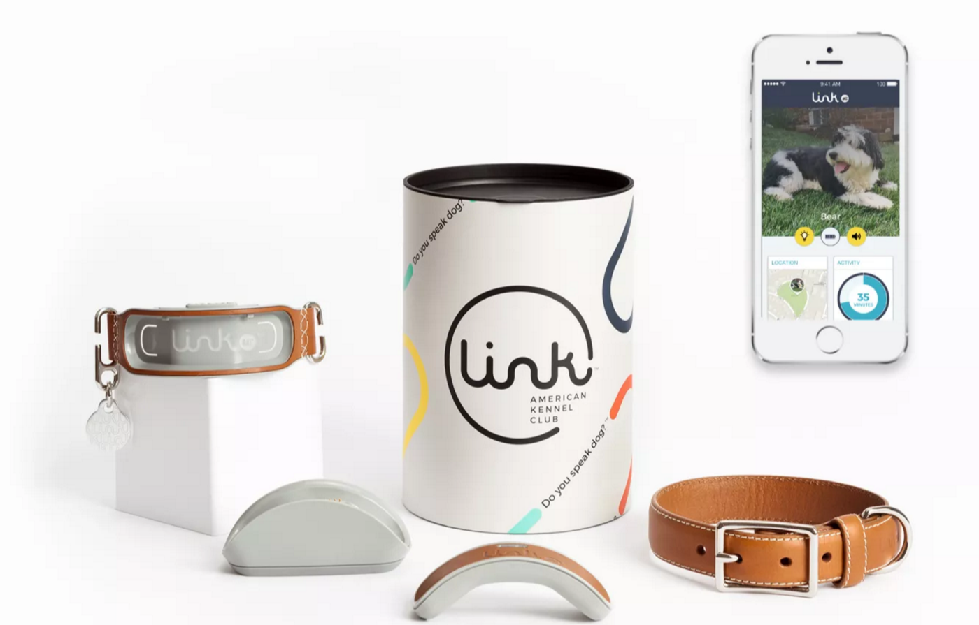 image for the asset titled: LinkAKC: Smart GPS Dog Collar