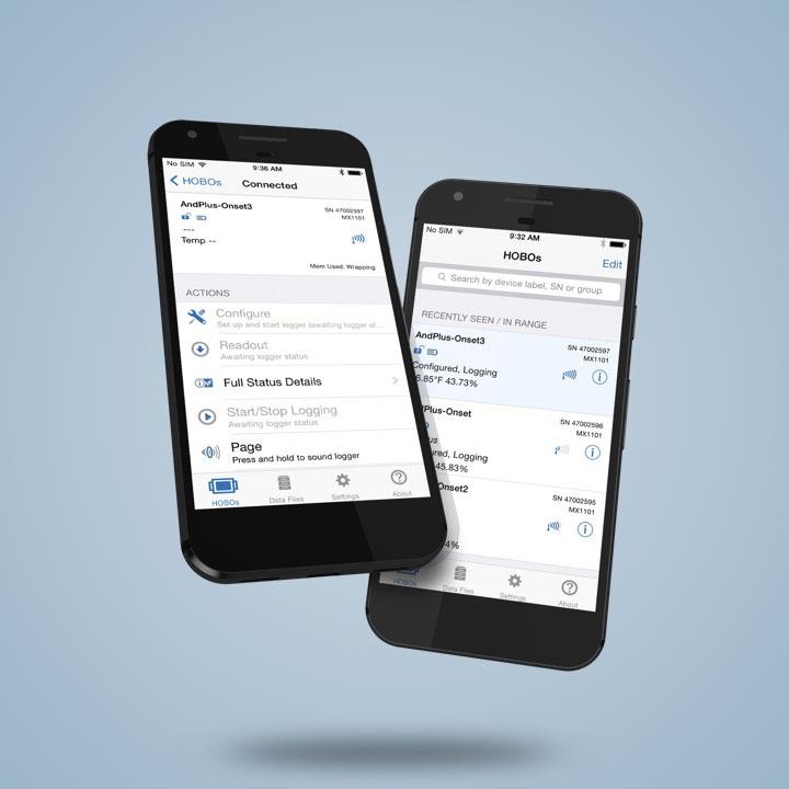 Onset Bluetooth Data Loggers