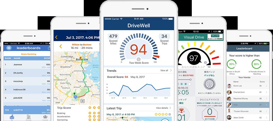 image for the asset titled: Cambridge Mobile Telematics: Mobile Safe Driver App