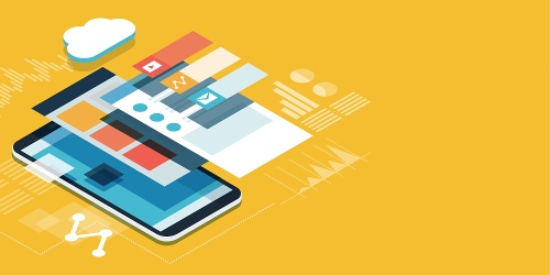 check the post:Web Apps vs Native Mobile Apps for a description of the image
